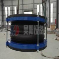 出口大口径橡胶膨胀节发往上海港